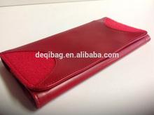 Red Make-Up Bag Pencil Bag Zipper Bag Polyester Felt