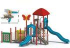 children indoor playground big slides for sale LY-041F