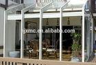 strong prefabricated elegant glass house aluminum sunroom conservatory