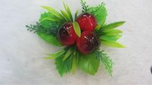 Hot sale EPS Foam+PVC(plastic) artificial fruit 3D Fridge Magnet