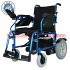 Aluminum Light Weight Power wheelchair with Flip back down Armrest