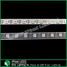 ws2812b 60 led/m flexible DC 5V smd5050 Led strip dmx waterproof ip65
