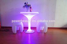illuminated bar table,cyber cafe furniture led