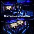 Wow! Máquina do laser para o parque de diversões andar 4d 5d 6d 7 dplayground equipamentos 7d simulação do jogo com o assento do cinema