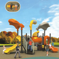 Beautiful field kids playground outdoor playsets for residential area