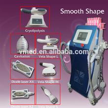 2014 Salon TOP SELL !! Velashape Cavcita Cell Laser Cryolipolysis Slim Beauty Equipment