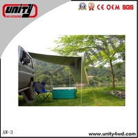 2015 waterproof roof tent /4wd retractable car awning for jimny accessories