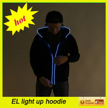 Be different!!!Fashion Lighting LED Hoodie,Hoodie Flash up, Clothes LED for Chirstmas/party/club