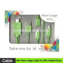 plug and play oem design hdmi to micro usb