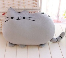 HOT Pusheen shape stuffed plush cat pillow
