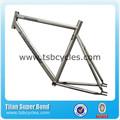 Tsb-tm1404 700c de una sola velocidad de artes fijos marco de bicicletas de china de la bicicleta marco