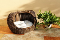 2014 hot sal rattan cheap dog and cat house