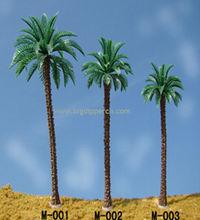 En plastique artificielle mini plante modèle pour échelle architecturale modèle mise en page / train disposition / scène mise en page