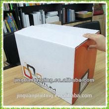 wholesale factory price stable E-flute corrugated carton