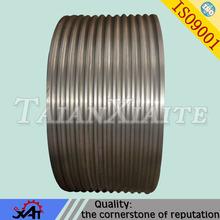 ductile iron machining parts flat Belt Pulley