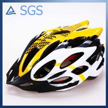 2014 Latest model breathable textured fabric liner adult bike helmet sun visor