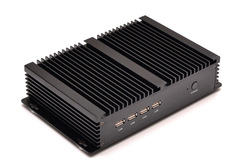 fanless linux server fanless mini itx case with Intel C1037U 1.8Ghz 6 COM HDMI 2 lan port Window 8 or ubuntu