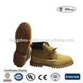 Usado botas de trabalho, insolente botas de trabalho, botas de segurança para trabalhos pesados