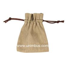 style Hand Carry jute shopping bag,linen drawstring bag