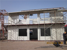 sell good quality steel hanger house building galvanized corrugated eps cement roof panel