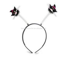 Black Cat Party Headband Head Unisex Party Costume