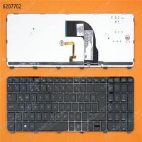 Original laptop keyboard for HP DV7-7000 BLACK FRAME BLACK Backlit For Win8 Layout Turkish
