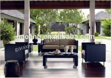 simple synthetic rattan outdoor sofa combination elegant