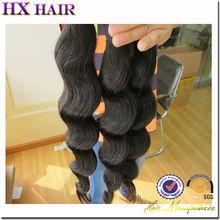 One Donor Virgin Hair Weft Large Stock indian hair braid