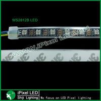 digital RGB LED ws2812b pixel strip 5v black/white PCB