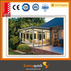 1.4mm aluminum sun house custom aluminium glass sun house