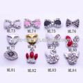 La moda de cristal 3d pegatinas de las uñas, el arte de uñas pegatinas