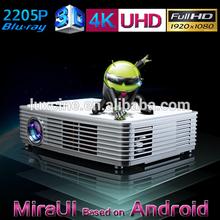 4K Pixel Ultra Dual HD Projector / Android 4.2.2 Projector / Mini Smart Projector