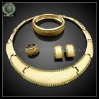Heavy indian bridal jewelry display set import jewelry from china