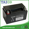 12 volt AGM Motorcycle Batteries ytx7a-bs 12v 7ah Motorcycle Battery