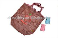 Polyester foldable bag printing poly bag