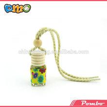 beautiful diy polymer clay sweet hanging car perfume bottle
