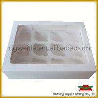 cupcake carrier,environmental cake box carton
