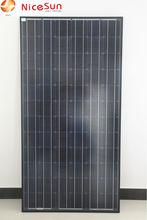 300w black solar panel mono