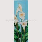 Home decor products handmade tile porcelain ceramic flowers