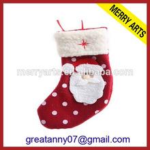 Beautiful And Popular Plush christmas stockings wholesale