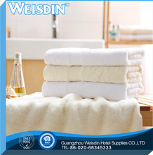 yarn dyed high quality polyester/cotton 2012 baby bath towel pattern