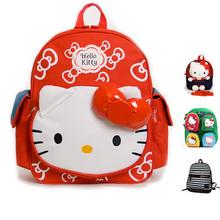 Cute Canvas Handbag Fashion Hello Kitty Baby School Bag