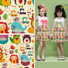 95 Cotton 5 Spandex Knitted Fabric with Digital Printing Small Quantity China Supplier for Child Cloth