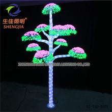artificial LED Vase Light lovely christmas tree caps for kids artificial mushroom