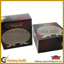 heart shape cake box,creative cylinder cupcake box