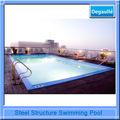 especialista industrial de aço quadrado estrutura de piscina