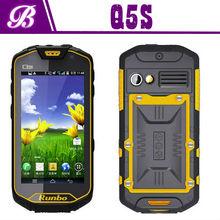 "4.5"" MTK6589 Quad core 1.2G 1280*720 IPS Screen runbo Q5S rugged phone"