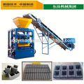 Mejor venta de ladrillo qt4-24 nad del bloque que hace la máquina de concreto decorativo equipo de ladrillo