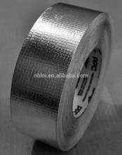 Heavy Duty Silver Fiber Glass Foil Insulation Reinforced Aluminium Foil Tape