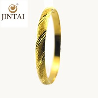 2015 fashion indian 18k solid gold hand jewellery bangles